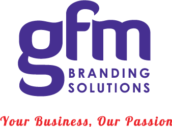 GFM branding solutions your business our passion logo 2015