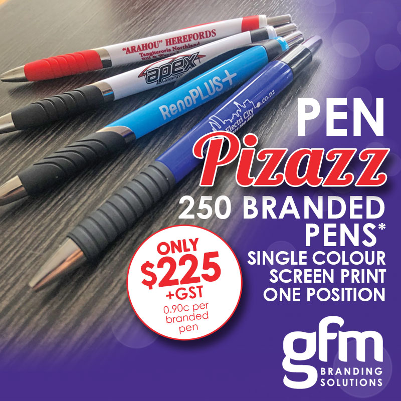 Whangarei Pen Pazazz March 2019 Special offer