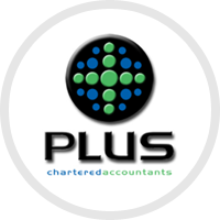 Plus chartered accountants logo
