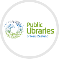 Public libraries of New Zealand logo